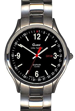 GardÈ Uhren aus Ruhla Funkuhr mit Saphirglas Herrenuhr 93-26M