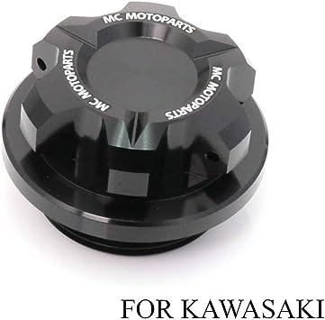 T-Axis Black CNC Oil Filler Cap For Kawasaki ZX-10R Ninja ZX-6R 636 Ninja ZRX1200 2017 2018 2019 ZX-6RR