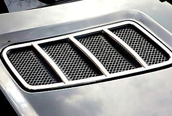 GLE 15-18 ABS cromato anteriore Hood Outlet Vent cover Trim pezzi per ML 12-15 GLE Coupe 15-18 GL 12-15
