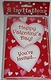Valentine Day Invitations 8 Pack