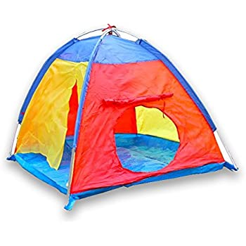 Children Play Tent for C&ing Indoors or Outdoor Kid Play Tent Multi-Colored by Sure  sc 1 st  Amazon.com & Amazon.com: Children Play Tent for Camping Indoors or Outdoor Kid ...