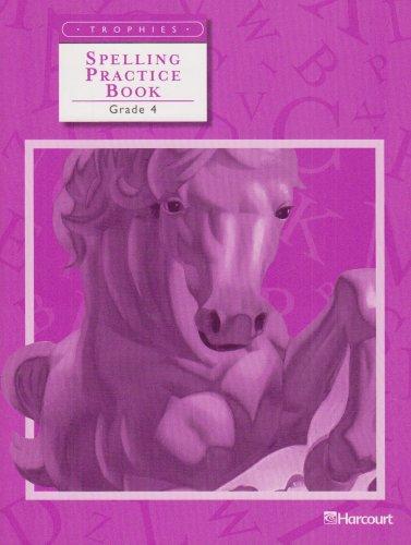 Trophies: Spelling Practice Book Grade 4