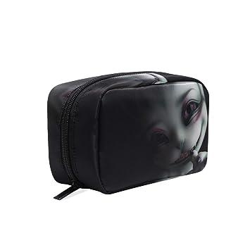 Amazon.com: Bolsa de maquillaje para niñas con arco iris y ...