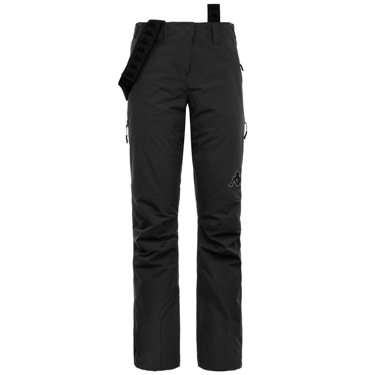 Water Protection Colore Nero Kappa Pantaloni Imbottiti Donna Modello 6Cento 665