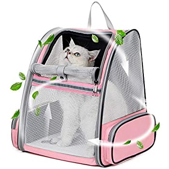 5d71a76dde Texsens Innovative Traveler Bubble Backpack Pet Carriers for Cats and Dogs