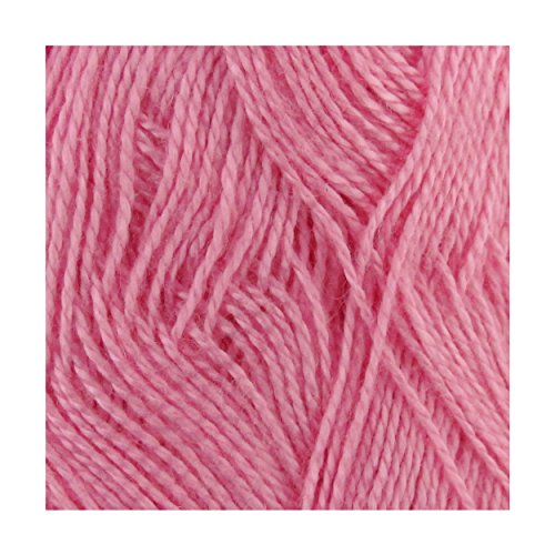 BambooMN Brand - Delightfully Super Soft Bamboo Tencel Fine Yarn - 4 Skeins - Col 02 Shy Blush