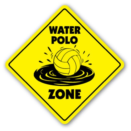 WATER POLO ZONE Sign new ball net players gift