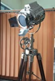 Cheap Hollywood Studio SEARCH LIGHT with TRIPOD FLOOR LAMP Chrome Finish by NauticalMart