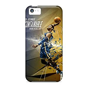 RandileeStewart Apple Iphone 5c Scratch Protection Phone Case Unique Design Trendy Paul George Pictures [Spm8510uvBS]