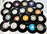 (25) 7' Vinyl Records for Crafts & Decoration