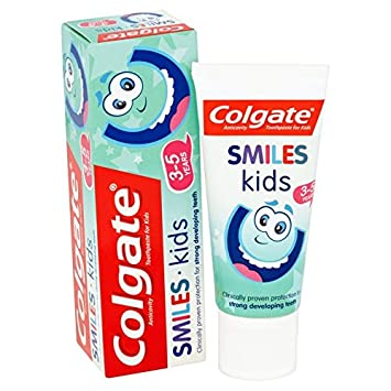 Colgate smile kids AntiCavity Toothpaste 3-5 years 50ml (PACK of 6) - **Special offer**
