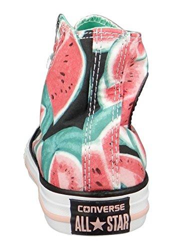 Converse Hi Calzado Vapor Pink Green Glow White