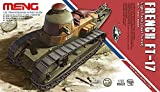"Meng ""modèle 1 : 35 Français ft-17 Light Débardeur Kit Tourelle de Fonte (Multicolore)"