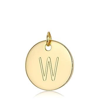 Amazon.com: Colgante de plata de ley chapada en oro con ...