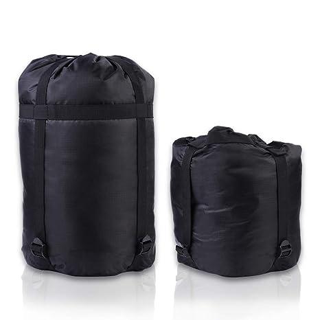 Bolsillo de compresión para el saco de dormir Yosoo saco de dormir tipo momia para embalaje