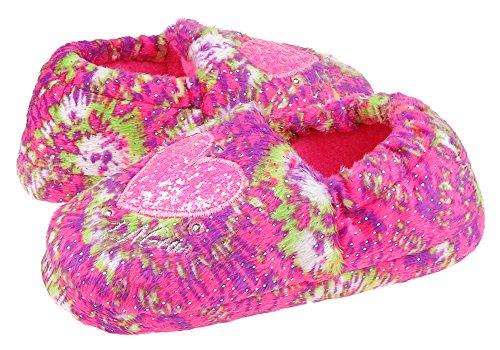 LA GEAR Love Tie-Dye Printed Moccasin Multi Combo Multi Combo 8/9 by LA Gear (Image #1)'