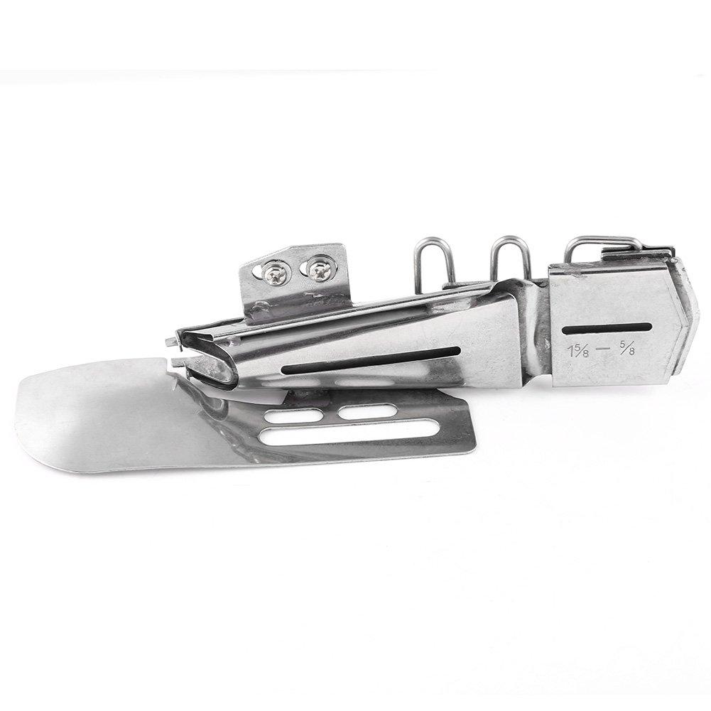 1pc Flat Binder Folder Binding Attachment Tape Binder for Industrial Sewing Machine 1-5//8-5//8 5//8