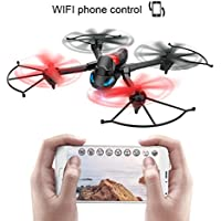 Lywey Headless Wifi Light Drone One-Key Remote Control Aerial Photography 300,000 Pixels Transform 3 modes Air, land, Ground Bounce