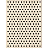 Inkadinkado Polka Dot Background Wood Stamp