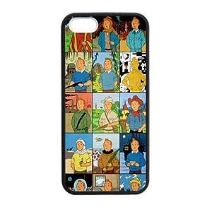iPhone 6 plus Case, [the adventures of tintin] iPhone 6 plus Case Custom Durable Case Cover for iPhone6 plus TPU case (Laser Technology)