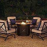 Amazon Brand - Ravenna Home Archer Outdoor Patio