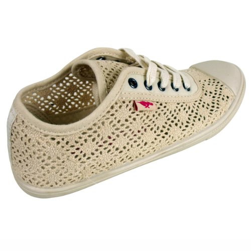 Dog Flat Natural Gumdrops Womens Ginnastica Canvas Trainer beige Rocket Scarpe Donna Pumps Da t5qqCnSR