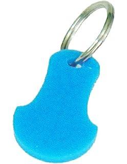 Carrito de la compra carrito clave token reutilizable con moneda libre llavero 10 colores (Paquete