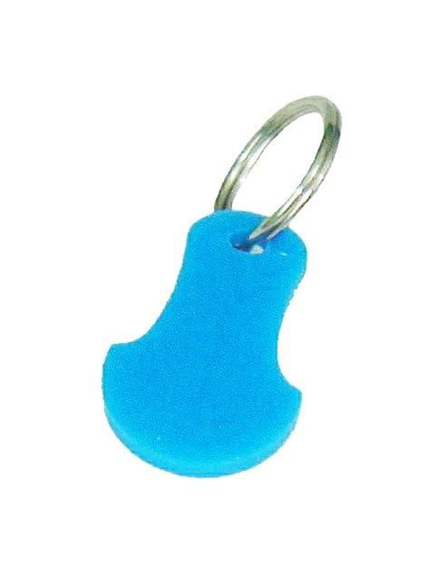 Carrito de la compra carrito clave token reutilizable con moneda libre llavero 10 colores (Paquete de 2)