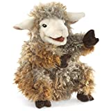 Image of Folkmanis Woolly Lamb Hand Puppet