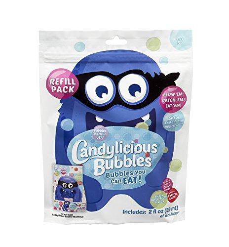 Little Kids Candylicious Bubble Machine Refill Pack