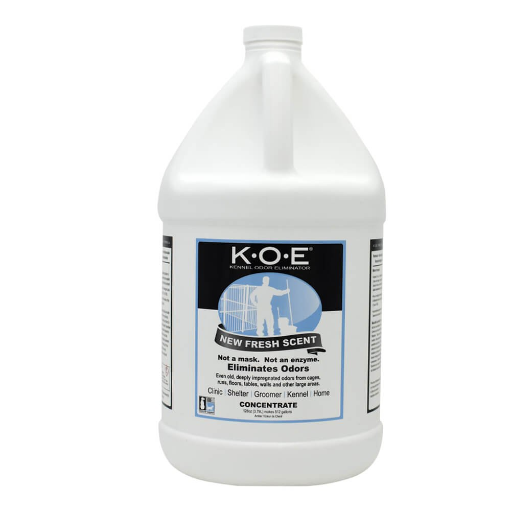 KOE Kennel Odor Eliminator Concentrate Fresh Scent (Gallon) by Odorcide