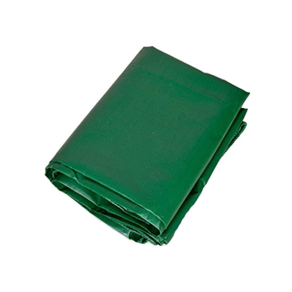 YX-Planen Mehrzweck-PVC-Plane Reversible Waterproof 100% UV-geschützt - Grün Density Grün Sunshade Plane Bodenabdeckungen -Dicke 0,4 mm, 500 g m²