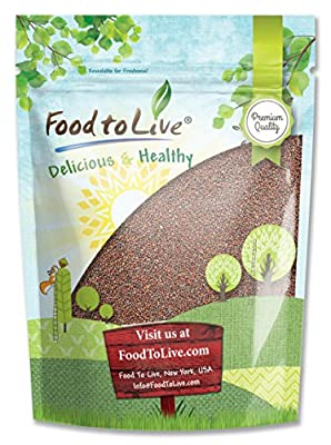 Food To Live ® Broccoli Seeds for Sprouting (2.5 Pounds)