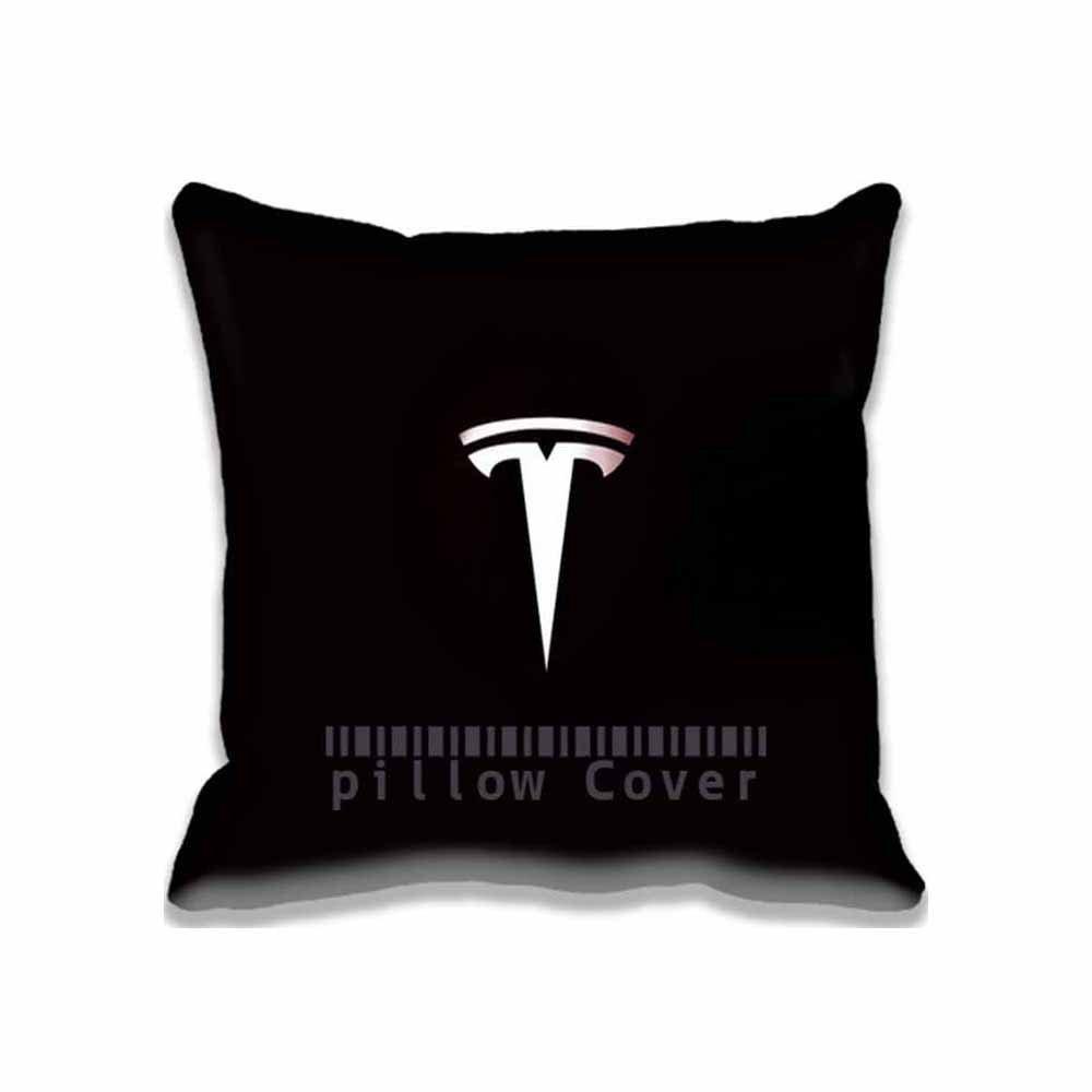 Personalisierte Home dekorativer /Überwurf-Kissenbezug Schutzh/ülle mit verstecktem Rei/ßverschluss Tesla Motoren Logo Art Cottage und bequem Kissenbez/üge