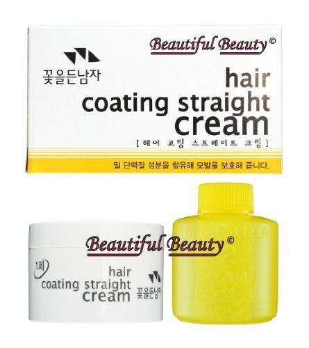 Cream Straight (THE FLOWER MEN HAIR COATING STRAIGHT CREAM)