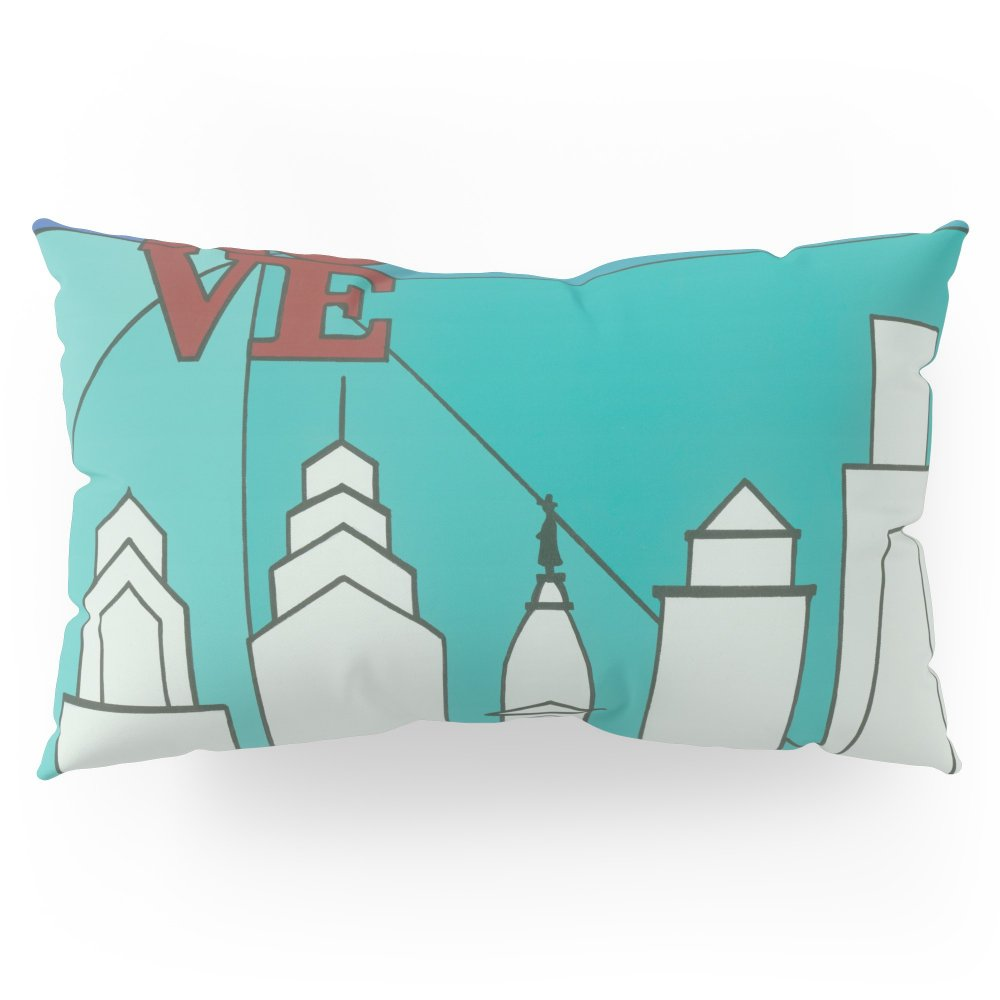 Society6 LOVE Shine Pillow Sham King (20'' x 36'') Set of 2