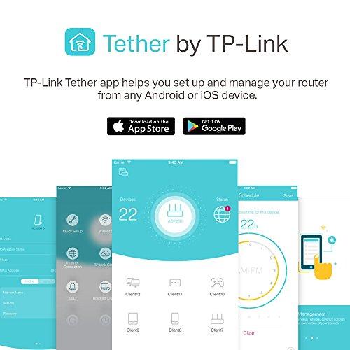 TP-Link Archer AC1900 Smart WiFi Router - Dual-Band Gigabit