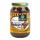 Eden Foods Organic Traditional Barley Malt Syrup — 20oz. by Eden Foods