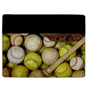 iPad 2/3 Cover ? Baseball and Softball ? Protective Leather Case