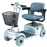CTM - HS-360 - Mid-Range Travel Scooter - 4-Wheel - Silver