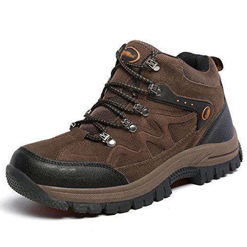 huge selection of 79142 69bb3 Al Para Hombre Resistentes Junior Caminar Uso Zapatos Diario Montaña  Zapatillas Zapato Senderismo Ocasional Desgaste De ...