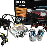 heinmo New Auto HID kit AC 55W H8H9H11Bombilla H790059006Xenon Kit Hid Lastre para faros delanteros de coche para 4300K 6000K 8000K Fuente de luz, 9006/HB4