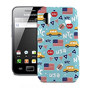 Phone Case For Samsung Galaxy Ace S5830 - The Big Apple New York USA Protective Hardshell