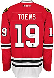 Jonathan Toews Signed Chicago Jersey