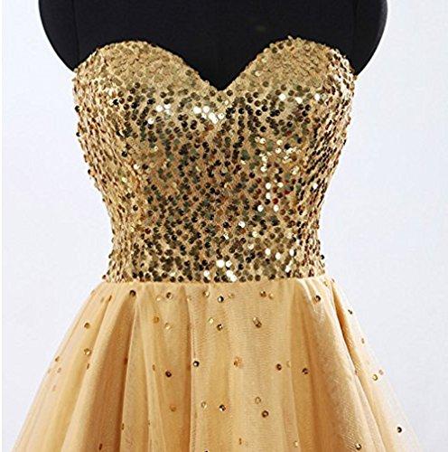KA Beauty - Vestido - para niña Champange