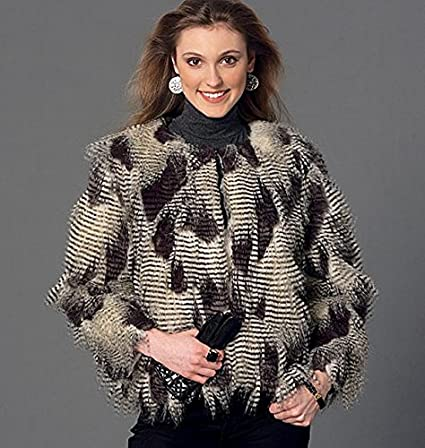 Amazon.com: McCalls Patterns M7257 Misses Shrug, Jacket, Vest & Coat, Y (X-Small-Small-Medium): Arts, Crafts & Sewing