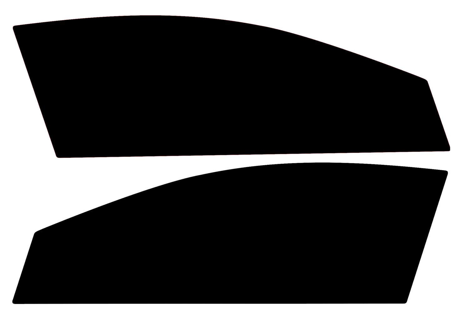 PSSC Pre Cut Front Car Window Films for Vauxhall Astra H Estate 2004 to 2010 50/% Light smoke Tint