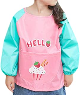 Baby Accessories Feeding Bibs Waterproof Bib Child Painting Clothes Protect-A21