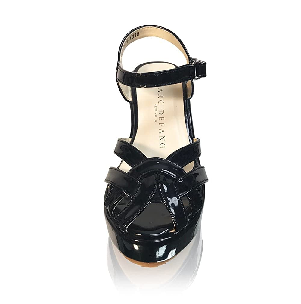 Marc Defang New York Girls Strappy Toes Sandal Wedges