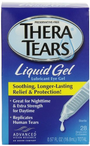Thera Tears Liquid Gel (Thera Tears Thera Tears Liquid Gel, 0.57 fl.oz.,28-Count (Pack of 2))